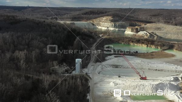 Drone Video Silca Industry Pacific Missouri