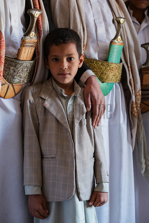 Portrait of a Yemeni Boy