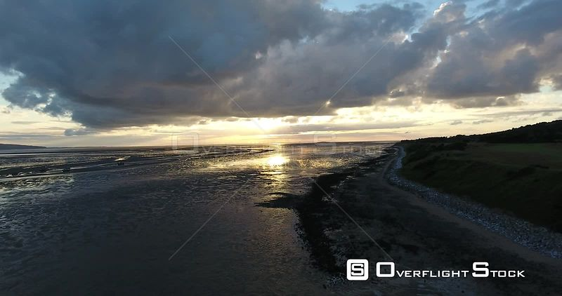 Low Tide River Dee Thurstason UK