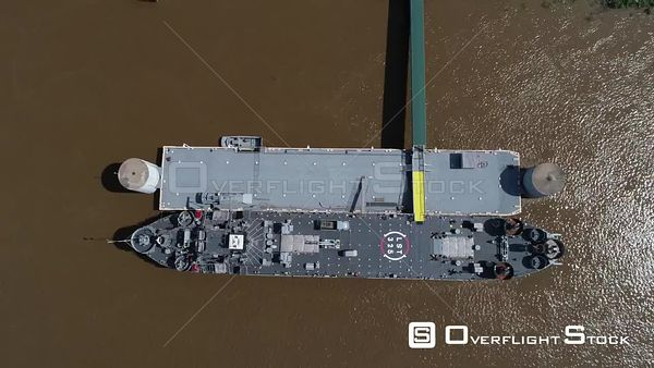 USS LST325 iDecommissioned Tank Landing Ship Evansville, Indiana, USA