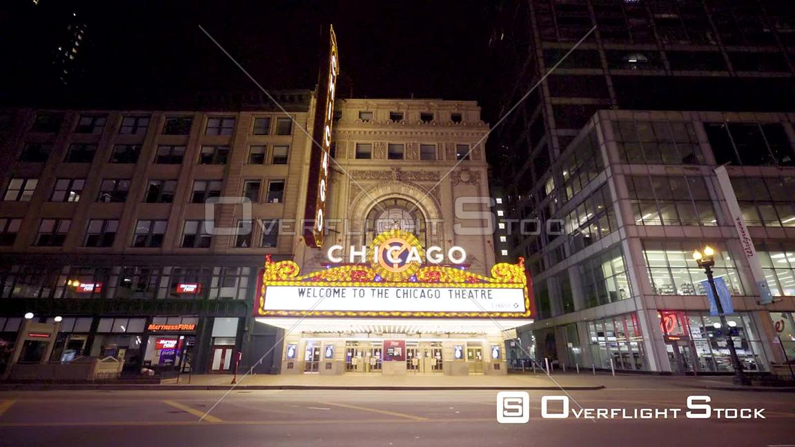 Chicago Theatre Timlapse