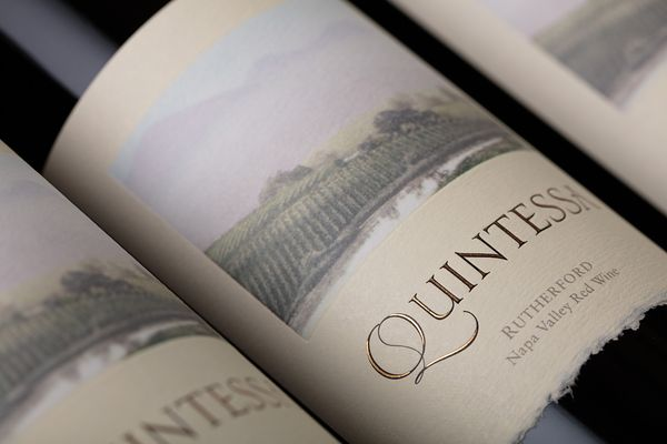 Commercial wine photography for Quintessa Winery by Jason Tinacci, Napa, California
