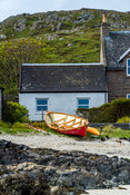 Rowboat on Iona