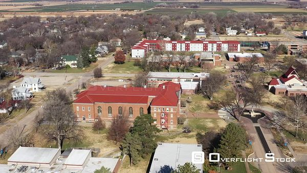 Buildings and Grounds for a Small College, Lindsborg, Kansas, USA
