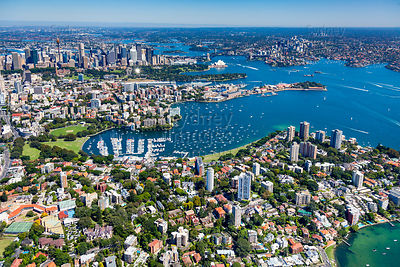 Darling Point to Sydney City