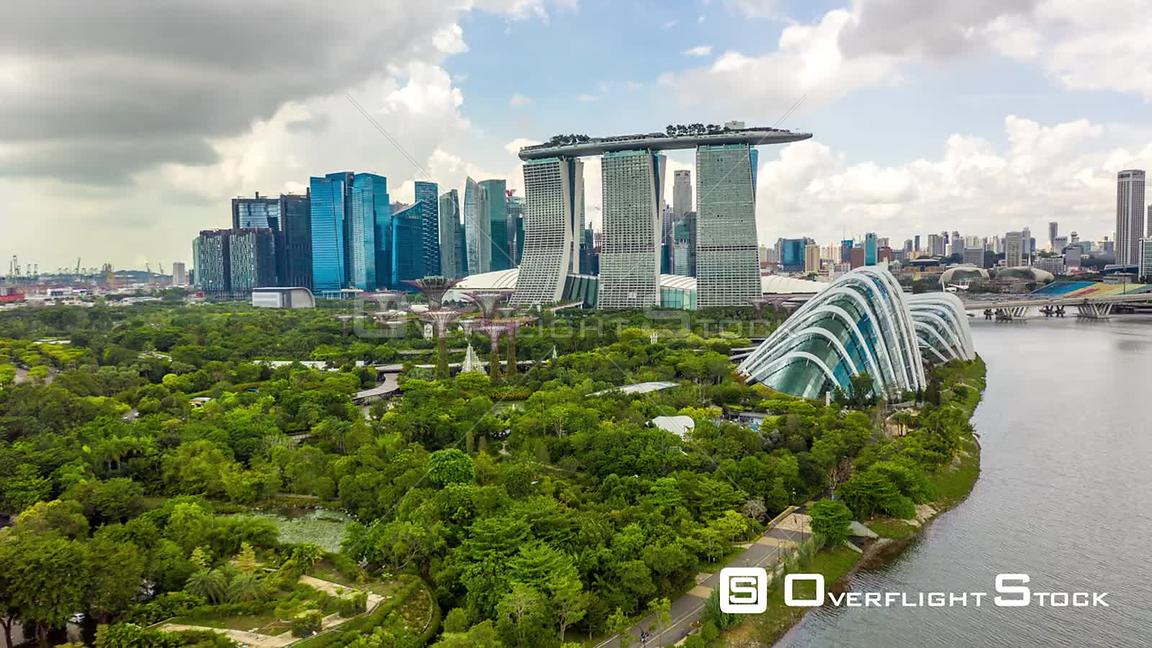 Singapore Marina Bay Sands Timelapse