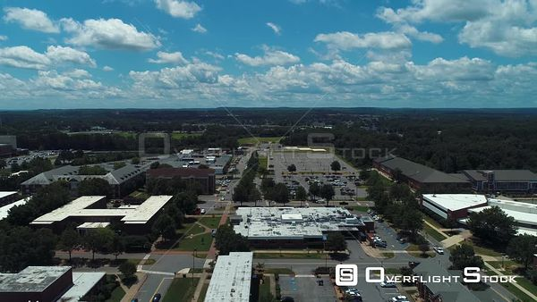 Universtiy of Central Arkansas Drone Aerial View