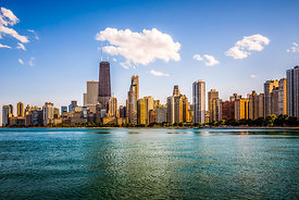 Gold Coast Chicago Skyline Photo