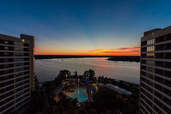 Sunrise from Bay Lake Tower | Color Print