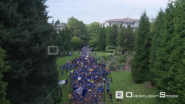 UBC Campus Pep Rally, University of British Columbia Vancouver Canada