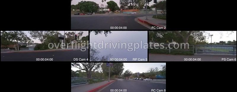 Canyon Twilight   California USA - Driving Plate Preview 2012