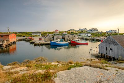 Quaint Vvillage of Peggy's Cove, Nova Scotia.