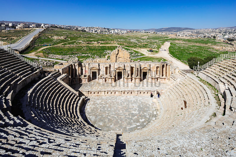 The South Theatre at Jerash