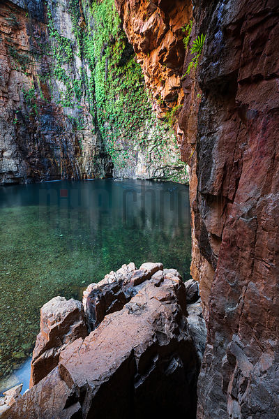 Swimming Hole at the End of Emma Gorge
