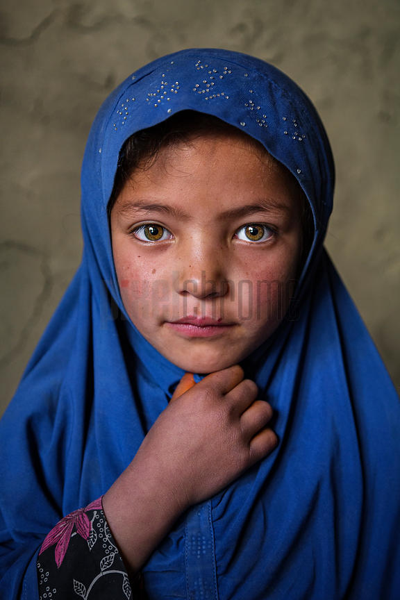 Portrait of a Young Kashmiri Girl