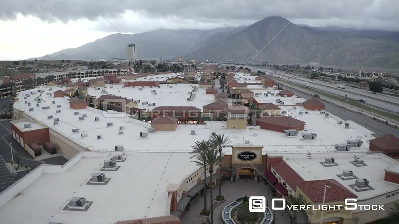 Cabazon Shopping Mall California during COVID-19 Pandemic