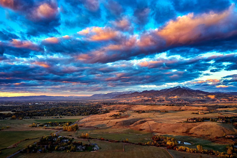 Montana Fall Sunset