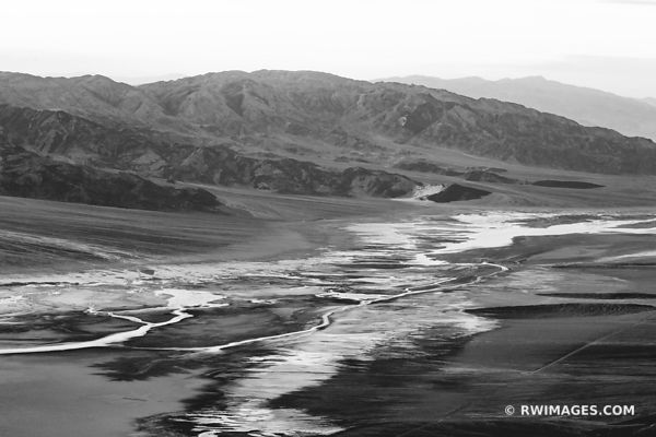 DANTES VIEW DEATH VALLEY CALIFORNIA AMERICAN SOUTHWEST BLACK AND WHITE DESERT LANDSCAPE
