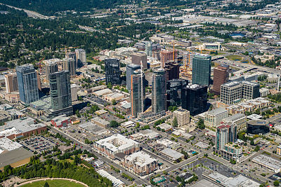 Downtown Bellevue Washington USA