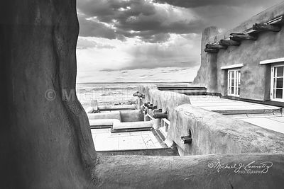 Painted Desert Inn (B&W)