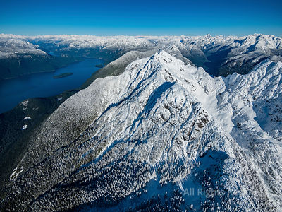 Golden Ears Peak in Winter