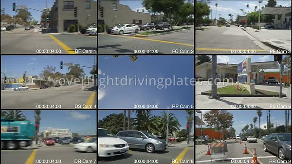 Commercial  Santa Monica California USA - Driving Plate Preview 2012