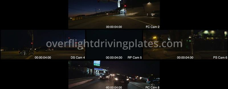 Mixed Dusk  Santa Monica California USA - Driving Plate Preview 2012