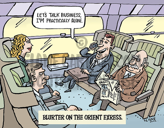 Blurter on the Orient Express