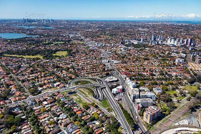 North Strathfield to Burwood and Sydney