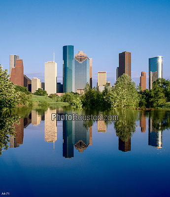City of Houston Reflection