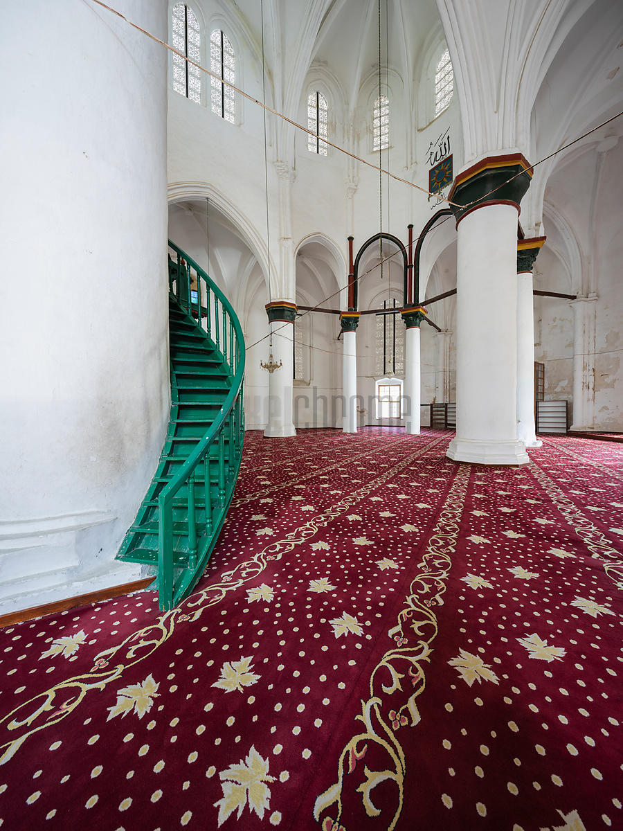 Interior of Selimiye Camii formerly St Sofia Cathedral