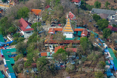Religious Shrine in Thailand
