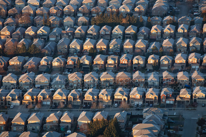 Rows of Homes
