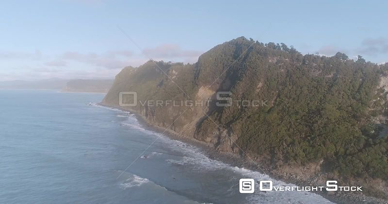 Gillespie Beach New Zealand West Coast Rugged Coast and Cliffs