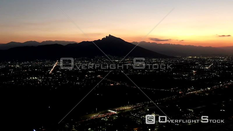 Drone Timelapse Video Monterrey Mexico