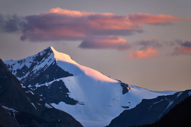 Mons Icefield Sunset