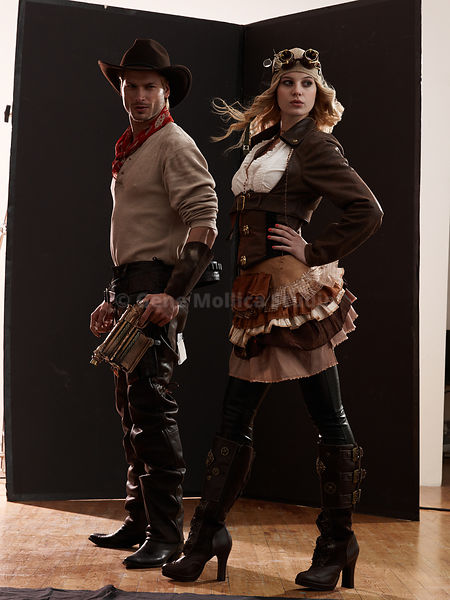Steam Punk Couple 1