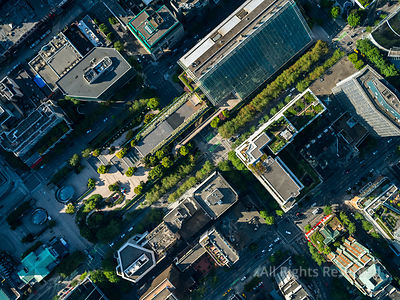 Robson Square and BV Courthouse Vancouver BC
