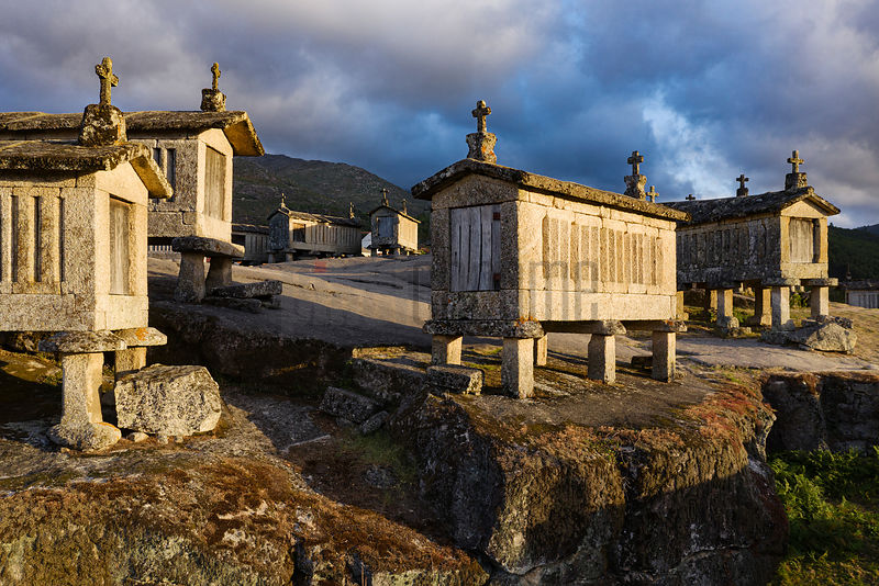 Espigueiros do Soajo at Sunrise