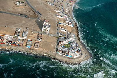 Beachside Community and Beaches Capital City Lima Peru