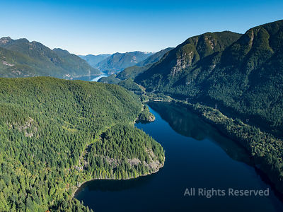 Buntzen Lake Diez Vistas Lookout Port Moody BC