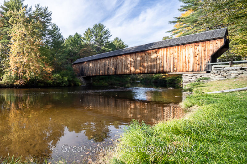 Corbin Covered Bridge Newport NH