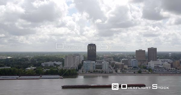 Drone Video of Baton Rouge Louisiana and Mississippi River