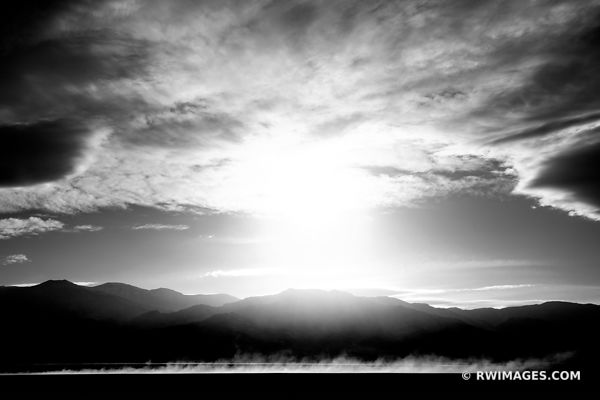 SAND STORM DEATH VALLEY CALIFORNIA BLACK AND WHITE