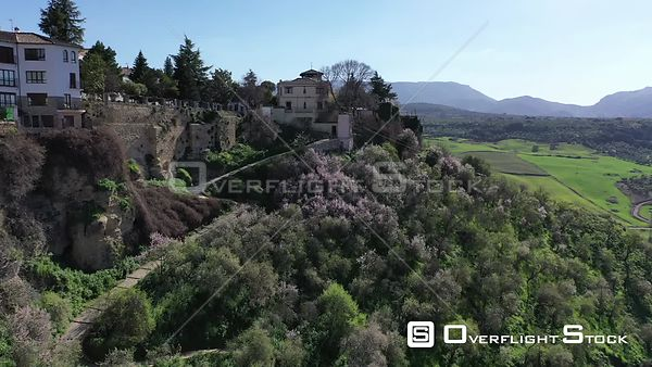 Drone Video of Historic Ronda Spain