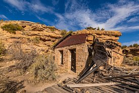 Ghost Town of Sego, Utah