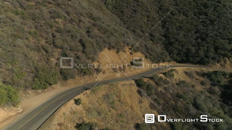 Sycamore Road Mountain Desert Winding Road California