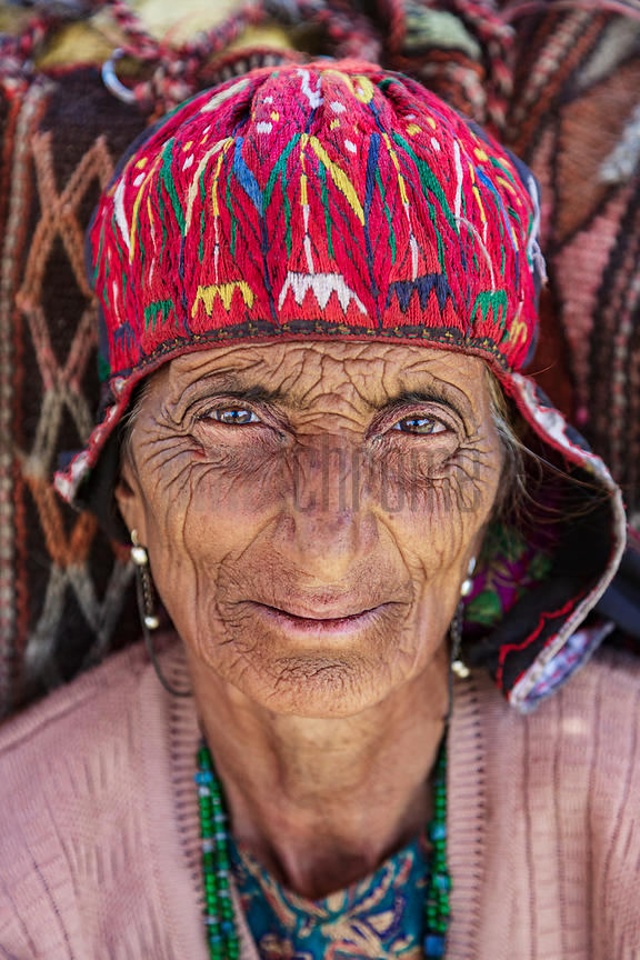 Portrait of a Nomadic Gujjar Woman
