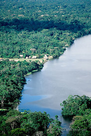 Amazon River Peru Near Mazan.