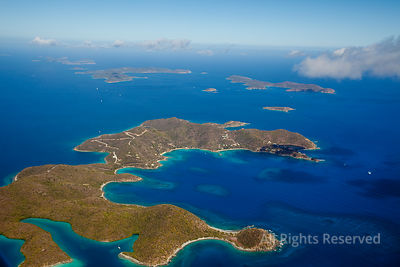 St. John US Virgin Islands and off Normand Island and Peter Island. British Virgin Islands Caribbean